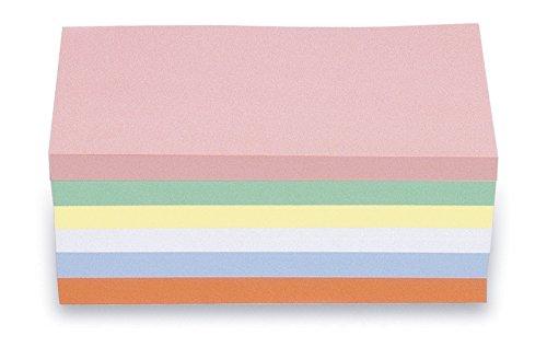magnetoplan 112501510 Moderationskarten, rechteck, sortiert