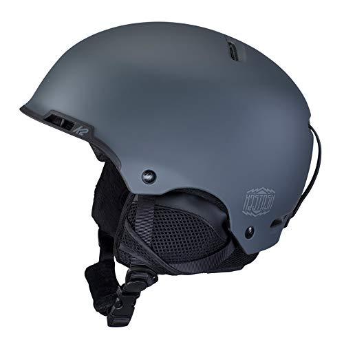 K2 STASH, Casco da Sci/Snowboard. Uomo, Blu Slate, Mittelgroß