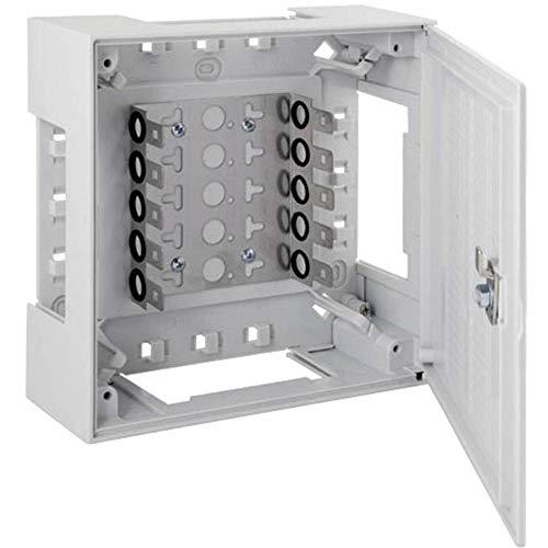 EFB-Elektronik 46025.1 Kunststoffverteiler Box II Box II mit Vorreiber 5 LSA-Leisten 2/10 Inhalt: 1S