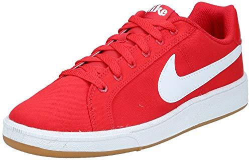 Nike Court Royale Canvas, Scarpe da Tennis Uomo, Multicolore (University Red/White/Gum Light Brown 000), 43 EU