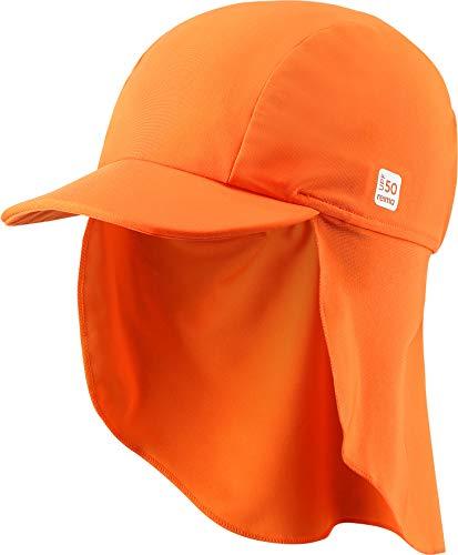 Reima Turtle A Sonnenhut Kleinkind orange Kopfumfang 56/58cm 2020 Kopfbedeckung