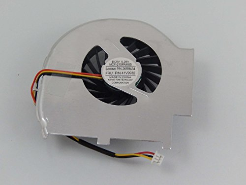 vhbw CPU/GPU Fan with 3-Pin Plug compatible with IBM/Lenovo ThinkPad T60, T60p Notebook Laptop