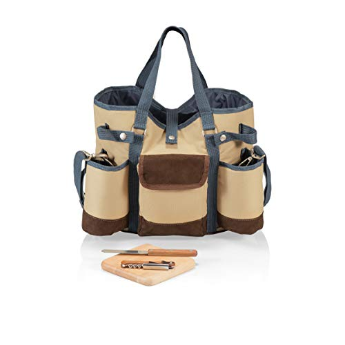 LEGACY - a Picnic Time Brand Wine Country Tote with Cheese Service...