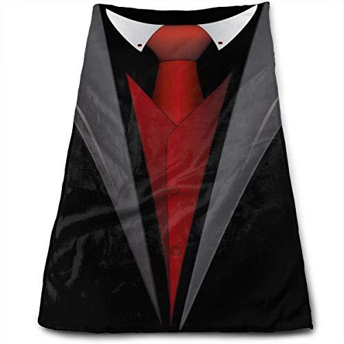 Cute Bi Krawatte Clipart Smoking Spültuch Maschinenwaschbar Geschirrtücher Geschirrtücher Geschirrtücher zum Trocknen Reinigen Kochen Backen 12×27.5 Zoll
