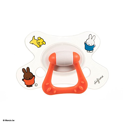 Difrax 8711736055678 Sucette - Natural - 6+ Mois - Miffy