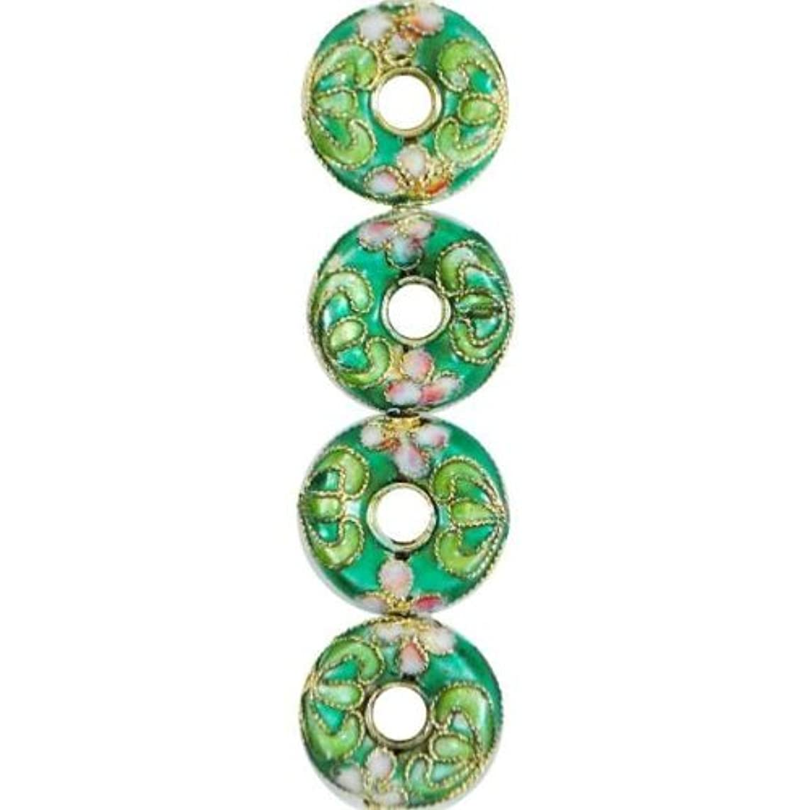 Expo BD51613 Cloisonne Donut Beads, 7-Pack