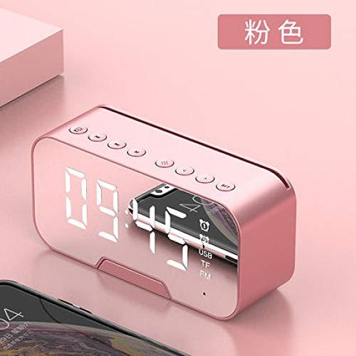 Mzbbn Despertadores Despertador Electrónico Recargable Dormitorio De Niña Luminoso Despertador Silencioso-Rosa Despertador Infantil Despertador Digital Despertador De Viaje