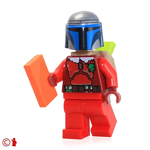 LEGO Star Wars Minifigure - Jango Fett (Holiday Santa Jango) 75023