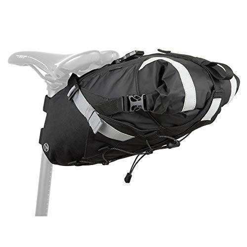 Author Fahrrad Satteltasche A-S3152 X7 Sumo Packsack 12 Liter Nylon Reflex sw