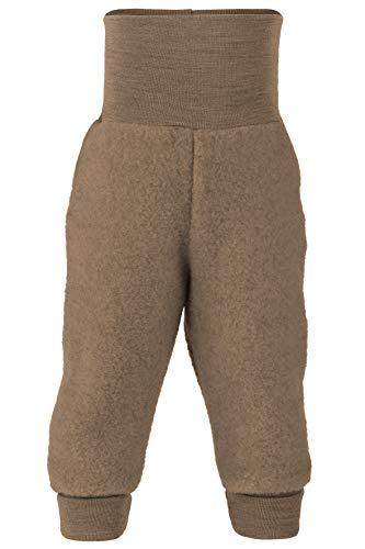 Organic Merino Wool Fleece Baby Broek Blauw