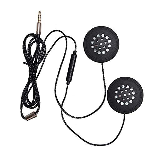HShyxlkj koptelefoon, bekabeld, hoofdtelefoon met 3,5 mm jack met microfoon