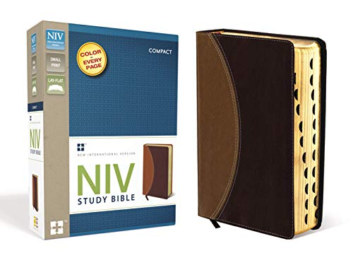 Compare Textbook Prices for NIV Study Bible, Compact Indexed, Small Print Compact, Indexed, Thumbed Edition ISBN 9780310428527 by Zondervan
