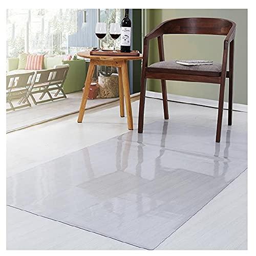 AMDHZ Bodenschutzmatte Verschleißfest Stuhlmatte Löschbar Kunststoff PVC Staubdicht rutschfeste Matte Kann Geschnitten Werden Benutzt Für Fußboden Stuhl Büro (Color : 2mm, Size : 80X120cm)