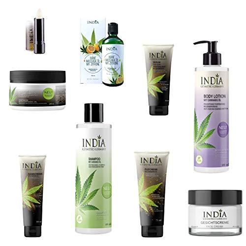 9-teiliges Premium Hanf-Kosmetik - Set, mit Cannabis Öl. Hochwertige Premium Bioqualität. Hautalterung, Antiaging, Neurodermitis. Wert 140 Euro.