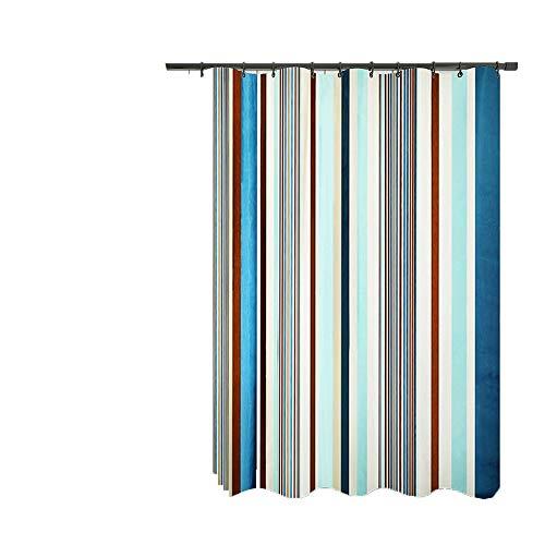 Shower Curtains Das Bad Duschvorhang wasserdichtes Tuch Anzug ist for Bad Duschvorhang mit Anti-Schimmel geeignet (Color : C)