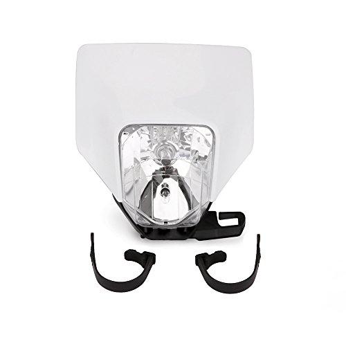 JFG RACING - Máscara de Faro halógeno Universal para Motocicleta, 12 V/35...