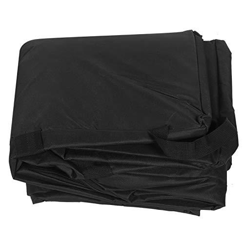 Black Dustproof Car Seat Travel Bag Car Seat Carrier Bag Backpack Padded Car Seat Backpack for Baby