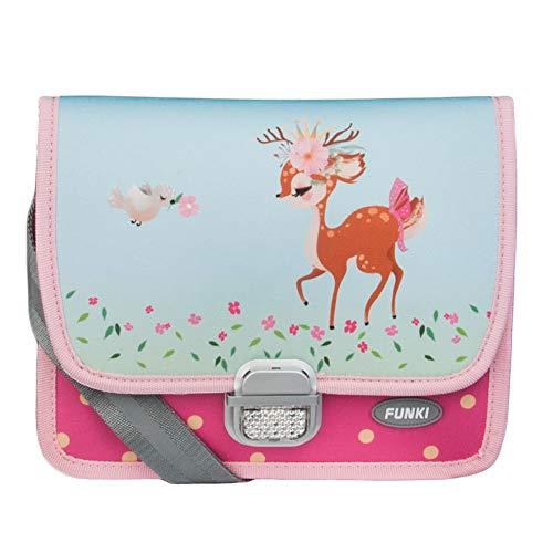 Kindergartentasche Bambi mit REH-Motiv von FUNKI, mit längenverstellbarem und...