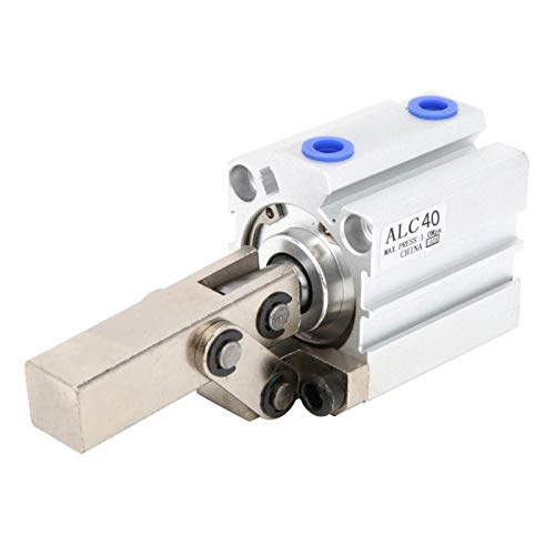 Cilindro neumático Cilindro de aire Strong Power M5 Ajuste de precisión para fábrica para equipos neumáticos(ALC40 without magnetic)