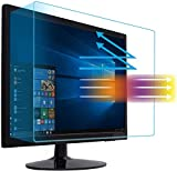23' Anti Blue Light Anti Glare Screen Protector Fit Diagonal 23' Desktop Monitor 16:9 Widescreen, Reduce Glare Reflection and Eyes Strain, Help Sleep Better (20.08' W x 1.3' H)