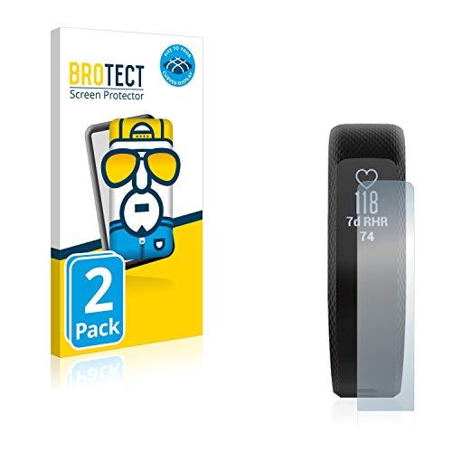 BROTECT Full-Cover Schutzfolie kompatibel mit Garmin Vivosmart 3 (2 Stück) - Full-Screen Bildschirmschutz-Folie, 3D Curved, Kristall-Klar