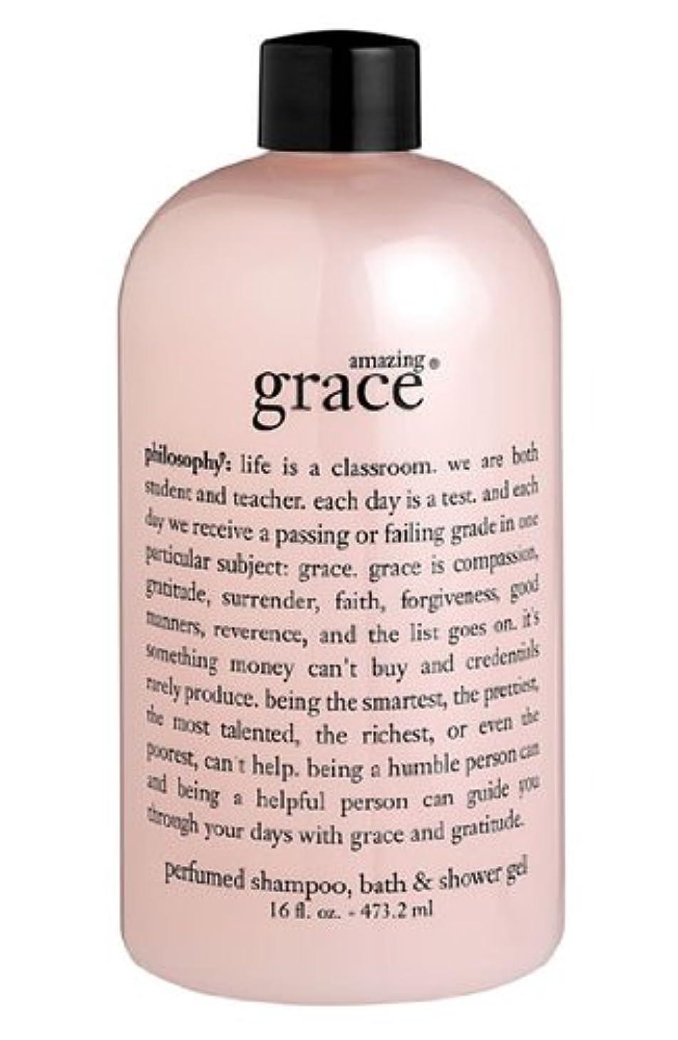 航空機遺棄されたバドミントンamazing grace shampoo, bath & shower gel (アメイジング グレイス シャンプー&シャワージェル) 16.0 oz (480ml) for Women