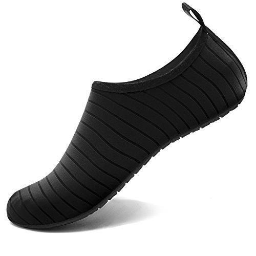 VIFUUR Water Sports Unisex/Kids Shoes Black - 9-10 W US / 7.5-8.5 M US (40-41)