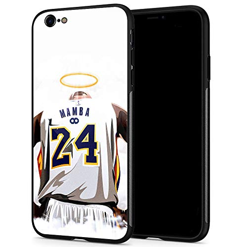 iPhone 6s Plus Case,Basketball Pattern Luxury Design,9H Tempered Glass iPhone 6 Plus Cases for Men Women Anti-Scratch Cover Case for iPhone 6/6s Plus pic 151