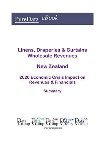 Linens, Draperies & Curtains Wholesale Revenues New Zealand Summary: 2020 Economic Crisis Impact on Revenues & Financials (English Edition)