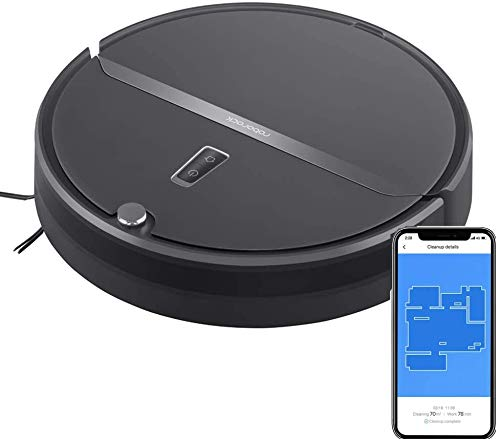 Roborock Robot Vacuum, Vacuum and Mop Robotic Vacuum Cleaner, Route Planning, 2000Pa Strong Suction, Ideal for Home with Pets (Renewed)