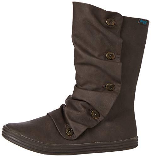 Irregular Choice Damen Rammish Hohe Stiefel, Braun (Brown Texas 205), 40 EU