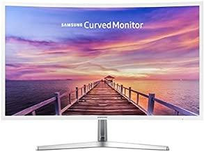 New Samsung 32 Full HD Curved Screen LED TFT LCD Monitor Glossy White MagicBright FreeSync Technology Eco Saving Plus Eye Saver VGA HDMI