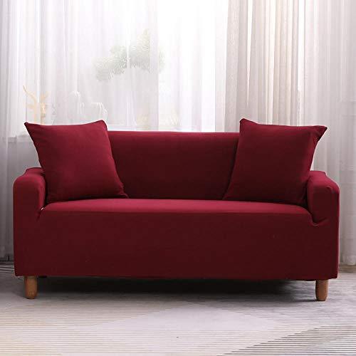 Protector de Sofá Cubre para Sofá,Funda de sofá elástica, Funda de sofá de Banco de sofá de Silla elástica, Funda Protectora de Perro Mascota-Color4_190-230cm
