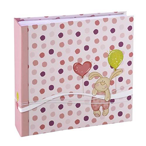 Hama Kleiner Hase Pink Fotoalbum - Fotoalben (Pink, 100 Blätter, 200 Blätter, 225 mm, 220 mm)