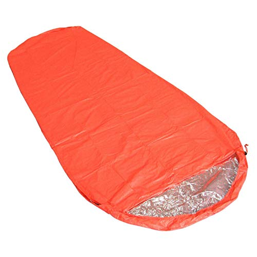 Emergency Sleeping Bag, Survival Sleeping Bag, Lightweight Waterproof Thermal Bivvy Bag Emergency Blanket Bushcraft For Outdoor Camping And Hiking