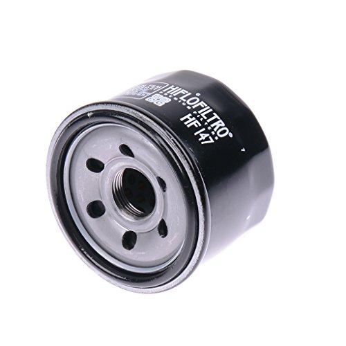 Filtre à huile noir hiflo hF147 pour kymco mXU/kymco mXU kymco mXU a4/2 x kymco mXU 4/4 x 4 kymco mXU iRS 4 x 4/500 kymco xciting t70 yamaha fZS 600 fazer/rJ021/yamaha fZS 600 fazer/rJ025 yamaha fZS 600 fazer rJ021 sP