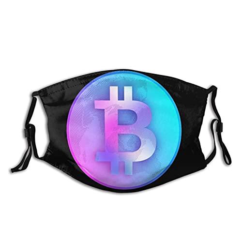 ZVEZVI Winddichter wiederverwendbarer waschbarer und wiederverwendbarer Staubfilter aus digitaler Währung von Bitcoin in digitaler Währung