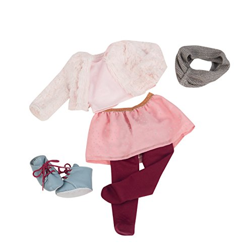 Our Generation 70.30223 18-inch è Neve Snuggly Deluxe Doll Outfit