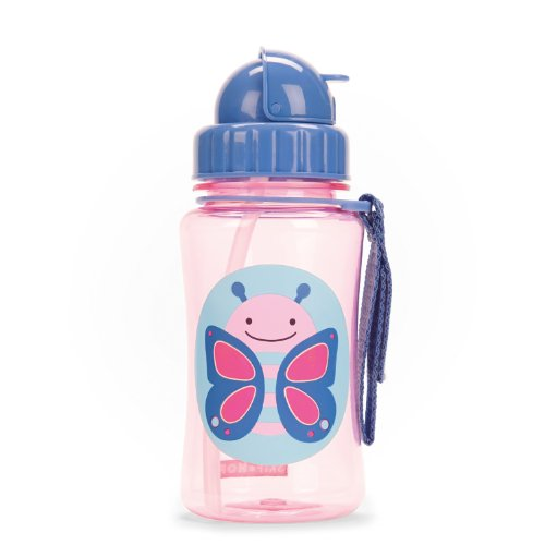 Skip Hop Zoo Straw Bottle (Butterfly)