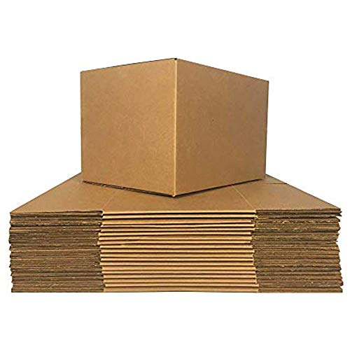 PackageZoom Moving Boxes Medium 16 x 12 x 8 Inches 25 Pack