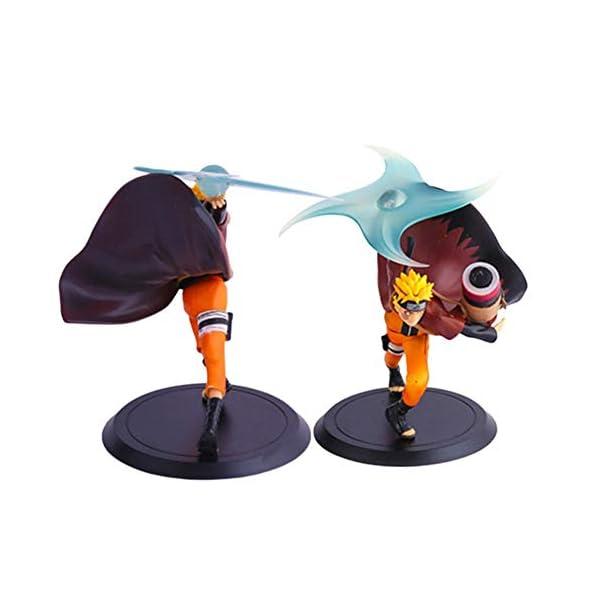 Figura de Ars-Bavaria de Naruto con Shippuden Uzumaki, figura de Naruto de PVC, figura de Sennin para coleccionistas… 2