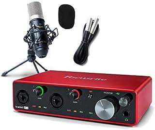 Focusrite Scarlett 4i4 3rd gen 高音質配信・録音セット フォーカスライト