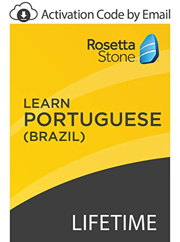 Rosetta Stone: Learn Portuguese (Brazil) with Lifetime Access on iOS, Android, PC, and Mac [Activation Code by Email]