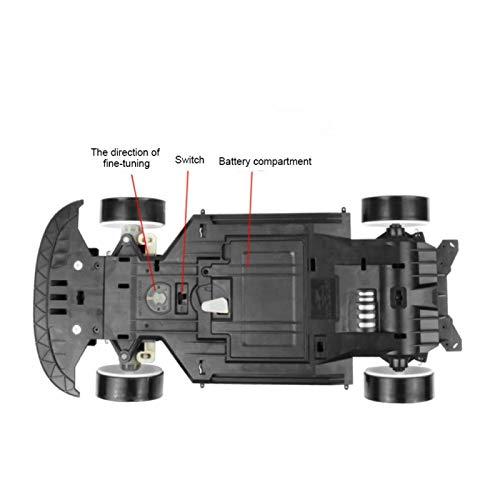 Eosnow 1:10 Gran vehículo RC Juguetes interactivos para Padres e Hijos Juegos para niños y Adolescentes(White and Black Camouflage, Single Battery)