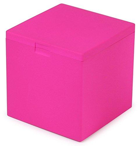 WINDMILL(ウインドミル) 灰皿 ハニカムキューブ 卓上 34本収納 ピンク 601-0007