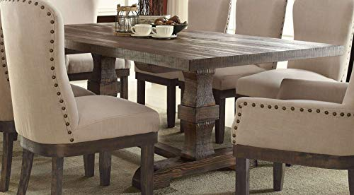 Moonvvin Landon Dining Table in Salvage Brown