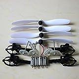 Eddwiin Para motores hélice eje principal motor base para JJRC H16 Yizhan Tarantula X6 Rc...