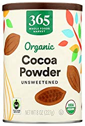 365 by Whole Foods Market, Organic Cocoa Powder, Unsweetened, 8 Ounce