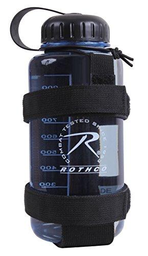 Rothco Lightweight MOLLE Bottle Carrier, Black