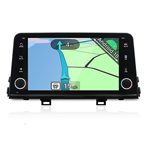 YUNTX Android 10 Autoradio Compatibile con Kia Picanto Morning 2017 -GPS 2 DIN - Fotocamera posteriore GRATUITI - 8 Pollici - Supporta DAB+ / Controllo del volante / 4G / WiFi/Bluetooth/Carplay
